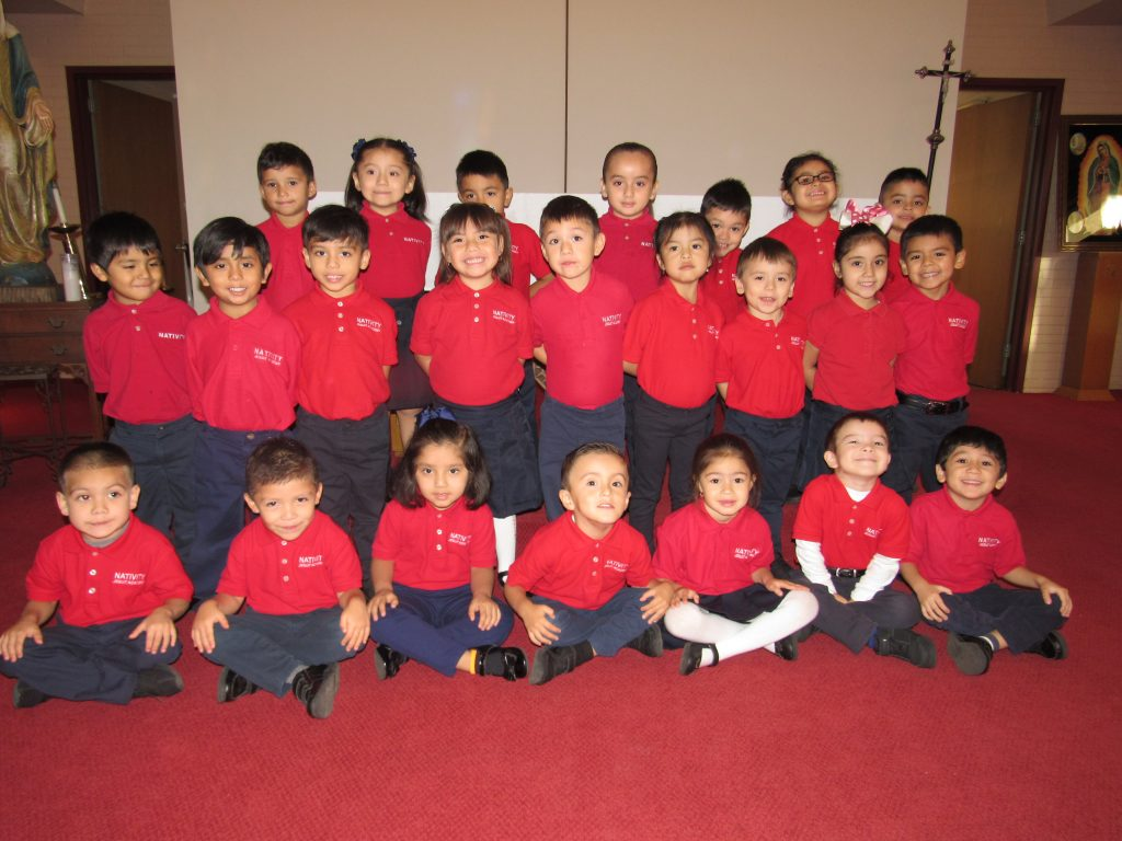 2017-18 Nativity Jesuit K4 Class